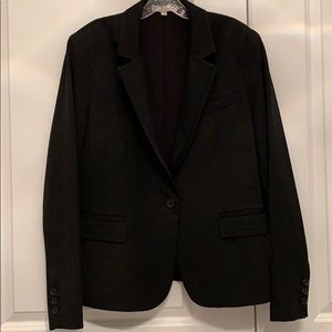 Ellen Tracy lined one-button blazer